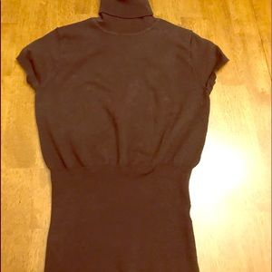 Sweaters - Brown summer turtle neck sweater in size small